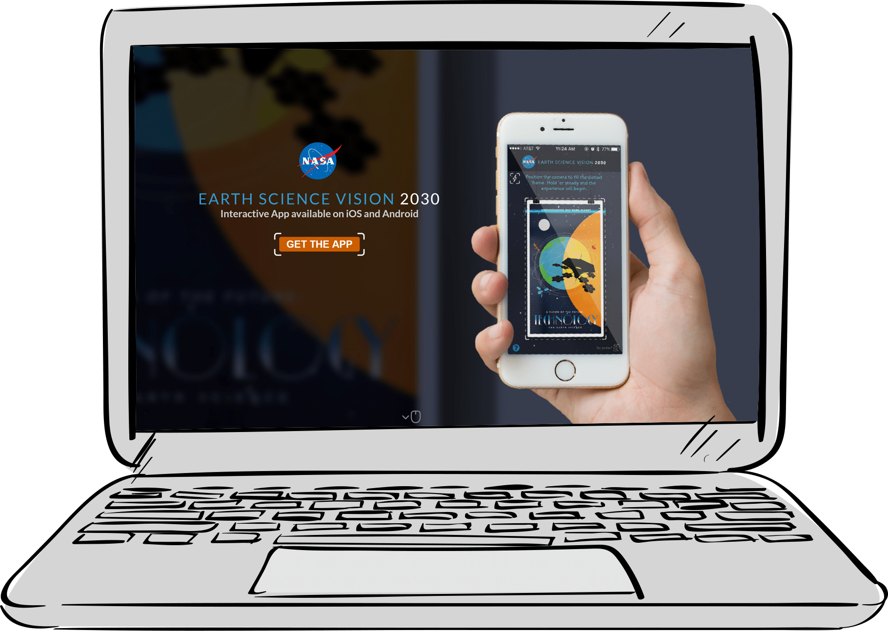 NASA Website Design and Development