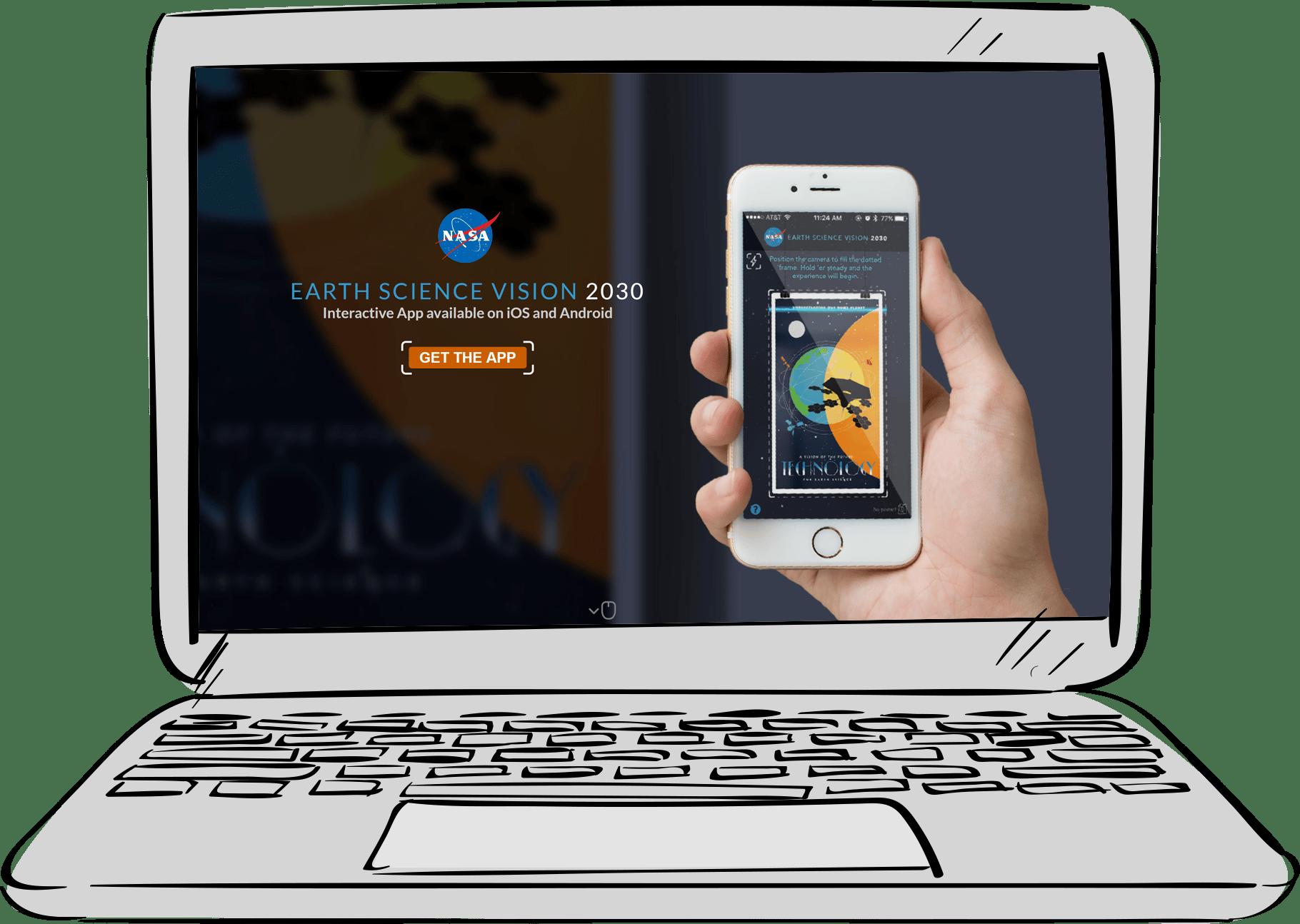 NASA Website Design and Development
